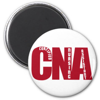 BIG RED CNA - CERTIFIED NURSING ASSISTANT REFRIGERATOR MAGNET