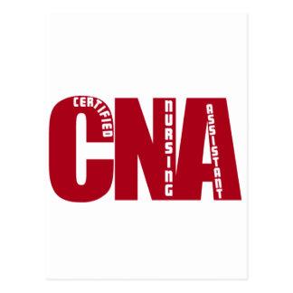 BIG RED CNA - CERTIFIED NURSING ASSISTANT POSTCARDS