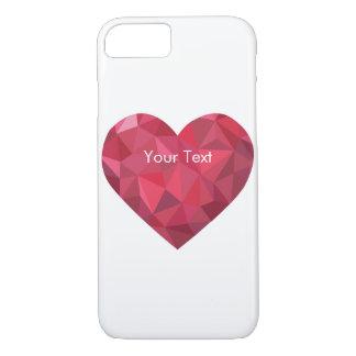 Big Red Diamond Heart iPhone 7 Case