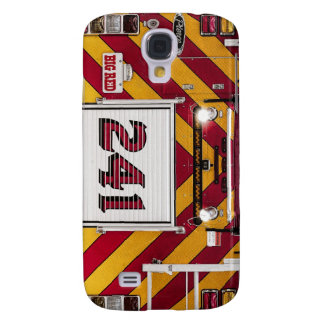 Big Red Fire Truck Galaxy S4 Cover