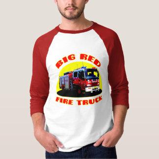Big Red Fire Truck T-Shirt
