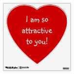 Big Red Heart Love Crush_So Attractive Wall Decals