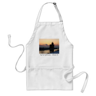 Big Red Lighthouse Adult Apron