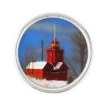 Big Red Lighthouse, Holland, MI Lapel Pin
