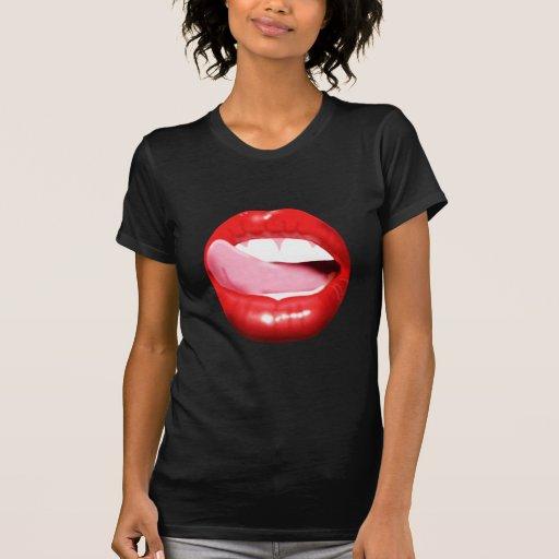 Big Red Lips T-Shirt