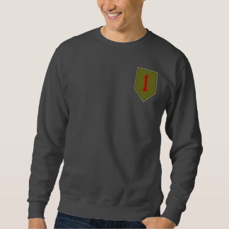 Big Red One, 1st ID Patch Pullover Sweatshirt