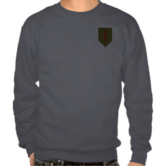 Big Red One, 1st ID Patch Pullover Sweatshirts