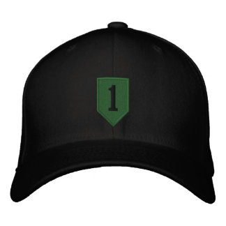 Big Red One - Subdued Embroidered Baseball Hat