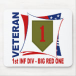 Big Red One Vet Mouse Mats