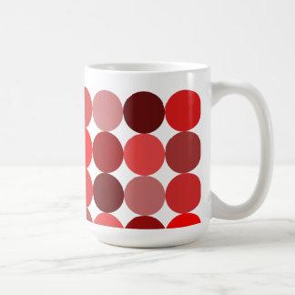 Big Red Polka Dots Coffee Mug