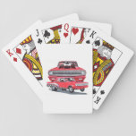 Big Red Ram Playing Cards