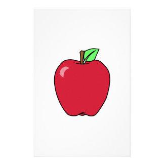Big Red Ripe Apple Stationery