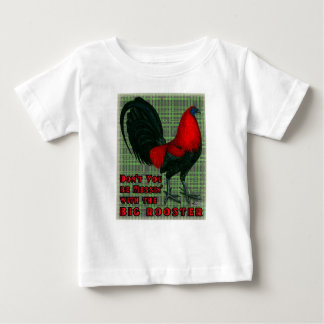 Big Red Rooster Baby T-Shirt