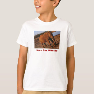 Big Red Save Our Wildlife T-Shirt