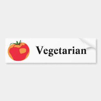 Big Red  Tomato Bumper Sticker