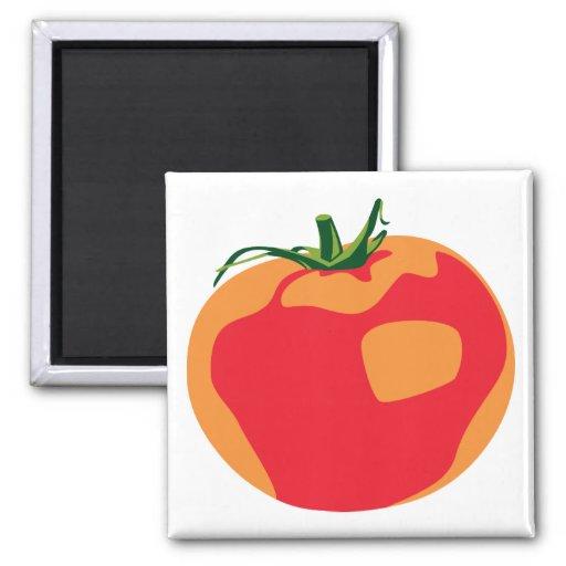 Big Red  Tomato Fridge Magnet