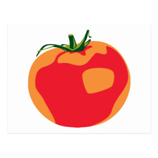 Big Red  Tomato Postcard