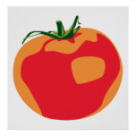 Big Red  Tomato Posters