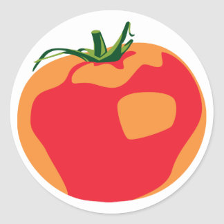 Big Red Tomato Sticker