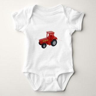 Big Red Tractor Baby Bodysuit
