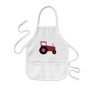 Big Red Tractor Kids' Apron