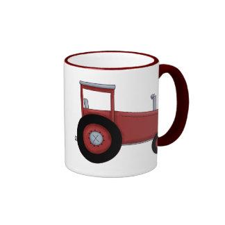 Big Red Tractor Mugs