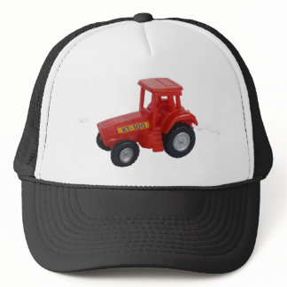 Big Red Tractor Trucker Hat