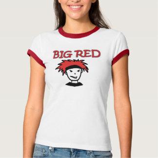 Big Red Women's Bella Ringer T-Shirt
