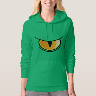 Big Reptile's Eye Women's Hoodie