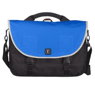 BIG RICH BRIGHT DEEP BLUE BACKGROUND WALLPAPER TEM COMMUTER BAG