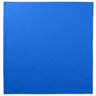 BIG RICH BRIGHT DEEP BLUE BACKGROUND WALLPAPER TEM PRINTED NAPKIN