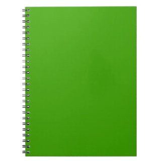 BIG RICH BRIGHT DEEP GREEN BACKGROUND WALLPAPER TE SPIRAL NOTE BOOK