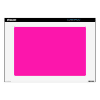 """BIG RICH BRIGHT DEEP HOT PINK BACKGROUND WALLPAPER SKIN FOR 15"""" LAPTOP"""