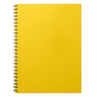 BIG RICH BRIGHT DEEP YELLOW BACKGROUND WALLPAPER T NOTE BOOKS