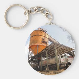 Big Rig at Cane Sugar Plant Basic Round Button Keychain