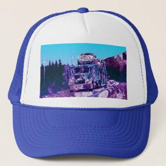 Big Rig Car Transporter Driving Trucker Hat Series