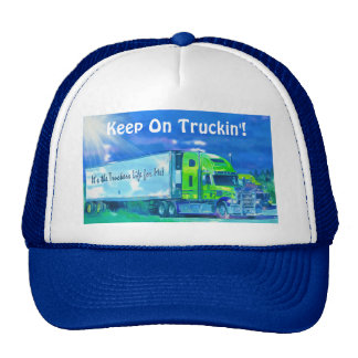 Big Rig Freight Truck Driving Trucker Hat Series