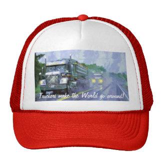 Big Rig Freightliner Cargo Truck Driver Hat