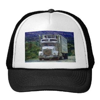 Big Rig Highway Driving Trucker Hat Series