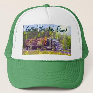 Big Rig Logging Truck Driver's Hat