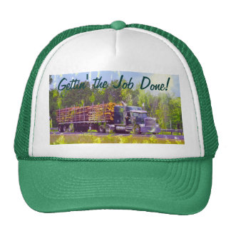 Big Rig Logging Truck Driver's Hat