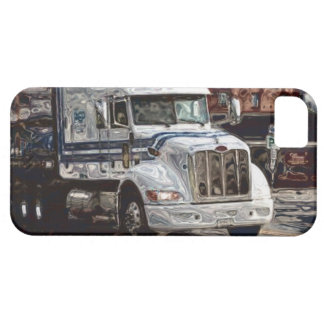 Big Rig Lorry White Truck iPhone 5 Case