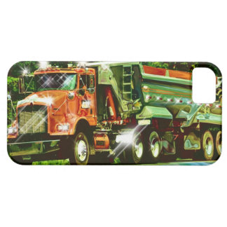 Big Rig Orange Truck Lorry Driver's iPhone 5 Case