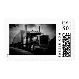 Big Rig Postage Stamp