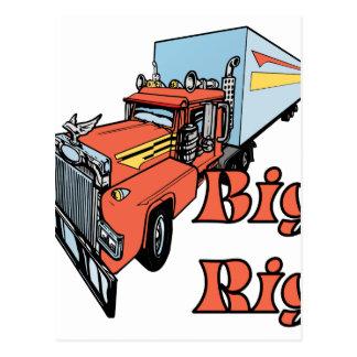 Big Rig Postcard