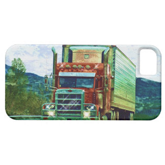 Big Rig Red Cargo Truck Case