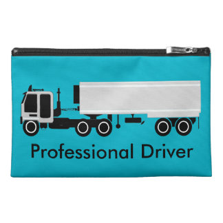 Big Rig Silver Reefer Truckers Customizable Bag