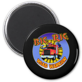 Big Rig T-shirts and Gifts For Him 2 Inch Round Magnet
