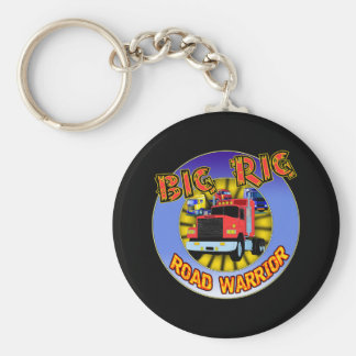 Big Rig T-shirts and Gifts For Him Basic Round Button Keychain