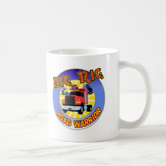 Big Rig T-shirts and Gifts For Him Classic White Coffee Mug